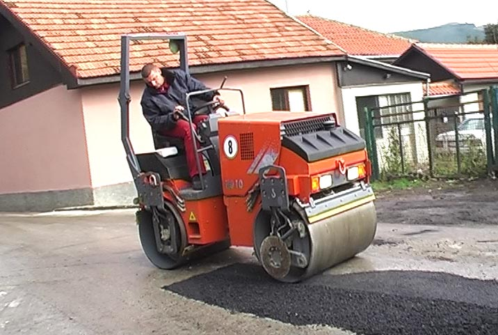 asfaltiranje ulica 1