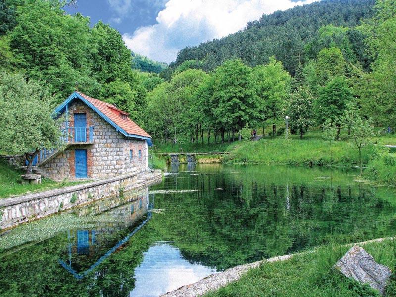 Gradski park Vodice, Pljevlja