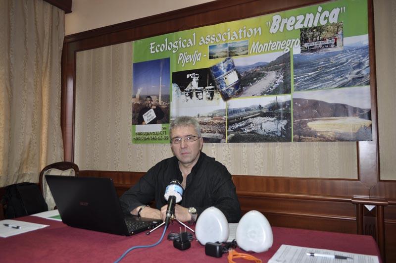 Foto Milorad Mitrović press konf Pljevlja