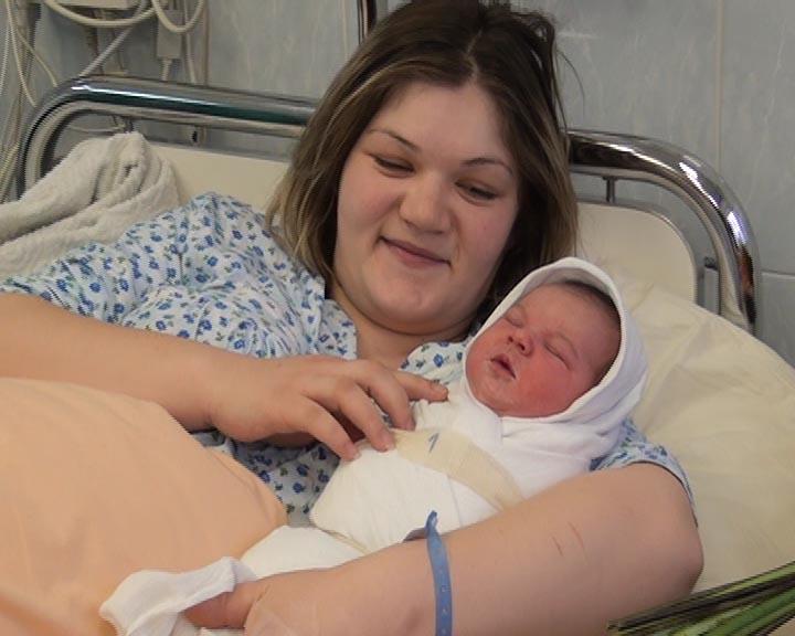 Prva beba Aneta