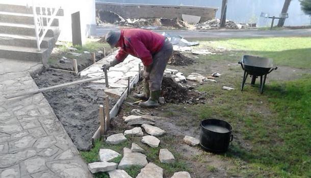 cajnice obnova hrama
