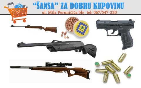 Puske pistolji