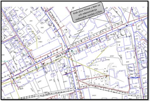 krak ulice tršove I faza rekonstrukcije