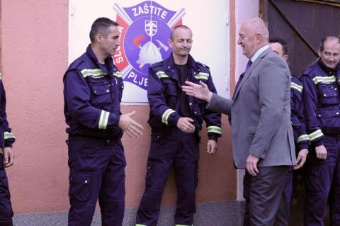 Mirko Đačić priznanje vatrogascima