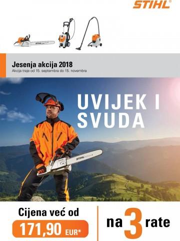 Jesenja akcija brošura CG-2