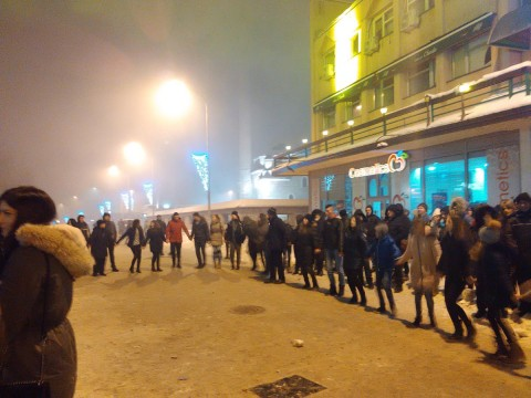 Doček pravoslavne Nove godine 2019 Pljevlja - KOLO